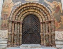 Kathedraal van de Veronderstelling in het Kremlin Stock Afbeeldingen