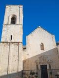 Kathedraal van de Veronderstelling van St. Mary. Polignano royalty-vrije stock foto