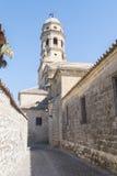 Kathedraal van de Veronderstelling van Virgin van Baeza, Jaen, Spanje stock foto