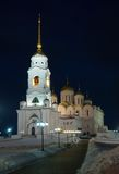 Kathedraal van de Veronderstelling in Vladimir Stock Foto