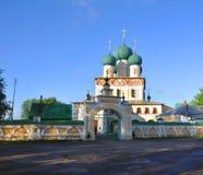 Kathedraal van de Verrijzenis van Christus Tutaev, Rusland Stock Fotografie