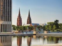 Kathedraal van de vlekkelooze conceptie Stock Foto