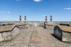 Kathedraal van Evora Stock Afbeeldingen
