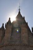 Kathedraal van Evora, Portugal Royalty-vrije Stock Afbeelding