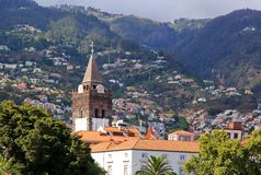 Kathedraal van Funchal (Madera) Stock Fotografie