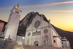 Kathedraal van gemona Udine stock fotografie