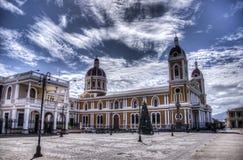 Kathedraal van Granada, Nicaragua stock afbeelding