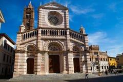 Kathedraal van Grosseto 03 stock afbeelding