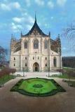 Kathedraal van Heilige Barbara stock afbeeldingen