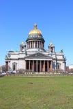 Kathedraal van Heilige Isaak in St. Petersburg Stock Afbeelding