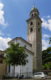 Kathedraal van Heilige Lawrence, Lugano stock fotografie