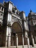 Kathedraal van Heilige Mary van Toledo, Spanje royalty-vrije stock foto's