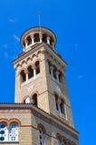 Kathedraal van Heilige Nectarios in Aegina-Eiland, Griekenland op 19 Juni, 2017 Royalty-vrije Stock Foto