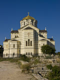Kathedraal van Heilige Vladimir, Sebastopol stock foto