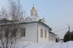 Kathedraal van Heiligen Peter en Paul, Rusland, Permanent Royalty-vrije Stock Fotografie
