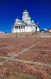 Kathedraal van Helsinki, Finland Stock Foto's