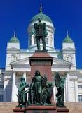 Kathedraal van Helsinki, Finland Stock Foto