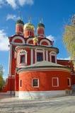 Kathedraal van het pictogram van de Moeder van God het Teken in Moskou, Rusland Royalty-vrije Stock Afbeelding
