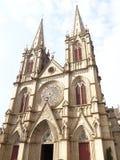 Kathedraal van het Shishi de Heilige Hart Royalty-vrije Stock Afbeeldingen