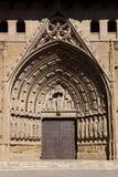 Kathedraal van Huesca Stock Afbeelding