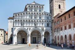 Kathedraal van Luca Royalty-vrije Stock Foto's