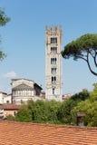 Kathedraal van Luca Stock Foto