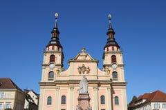 Kathedraal van Ludwigsburg Stock Fotografie