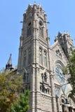 Kathedraal van Madeleine in Salt Lake City Stock Foto's