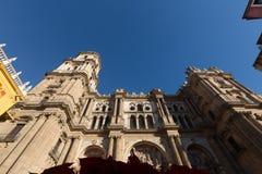 Kathedraal van Malaga Royalty-vrije Stock Foto's