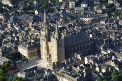 Kathedraal van Mende, Frankrijk Stock Fotografie
