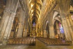 Kathedraal van Metz, Frankrijk royalty-vrije stock foto's