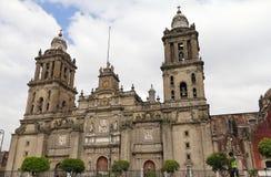 Kathedraal van Mexico-City II Stock Foto