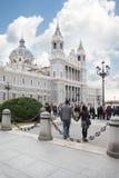 Kathedraal van Nuestra Senora de la Almudena royalty-vrije stock fotografie