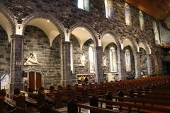 Kathedraal van onze Dame Assumed in Hemel en Sinterklaas, Galway Ierland 1 Royalty-vrije Stock Afbeeldingen