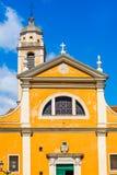 Kathedraal van Onze Dame van de Veronderstelling Ajaccio, Corsica, Frankrijk stock foto's
