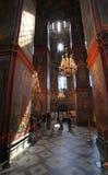 Kathedraal van Onze Dame van Smolensk Het Klooster van Novodevichiy Royalty-vrije Stock Foto's