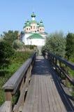Kathedraal van Onze Dame van Smolensk Olonec Karelië Rusland Royalty-vrije Stock Afbeeldingen