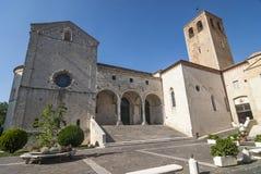 Kathedraal van Osimo (Ancona) Stock Afbeeldingen