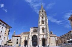 Kathedraal van Oviedo. Stock Foto's