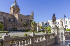 Kathedraal van Palermo Royalty-vrije Stock Fotografie