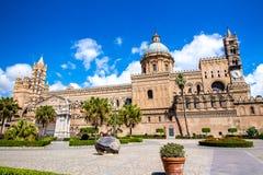 Kathedraal van Palermo, Italië stock afbeelding