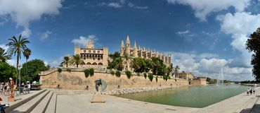 Kathedraal van palma DE majorca Royalty-vrije Stock Foto