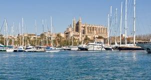 Kathedraal van Palma DE Mallorca Stock Fotografie