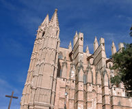 Kathedraal van Palma DE Mallorca Royalty-vrije Stock Foto's