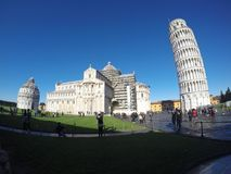 Kathedraal van Pisa - externe mening Stock Fotografie