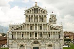 Kathedraal van Pisa in Italië Royalty-vrije Stock Foto's
