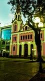 Kathedraal van Posadas Misiones royalty-vrije stock foto