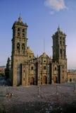 Kathedraal van Puebla Stock Afbeelding