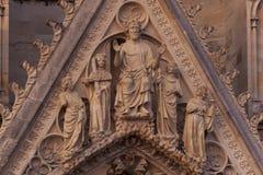 Kathedraal van Reims royalty-vrije stock foto's