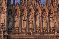 Kathedraal van Reims royalty-vrije stock afbeelding